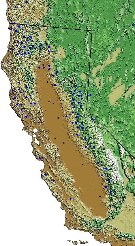 Map of Rivers