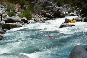 Tuolumne River starting on Cherry Creek CA