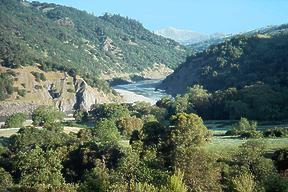 Eel River below Dos Rios CA