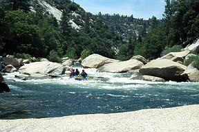 Forks of the Kern River CA