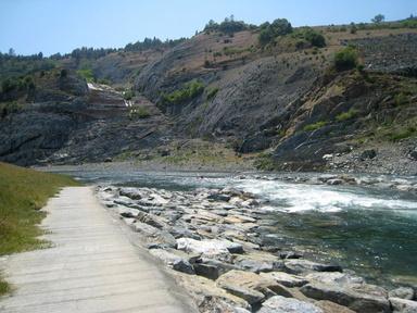 California Creeks American River Confluence Auburn Dam