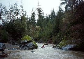 Upper Rancheria Creek near Boonville CA
