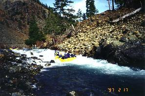 North Fork Smith River near Gasquet CA