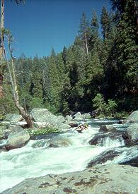 North Fork Stanislaus River near Avery CA